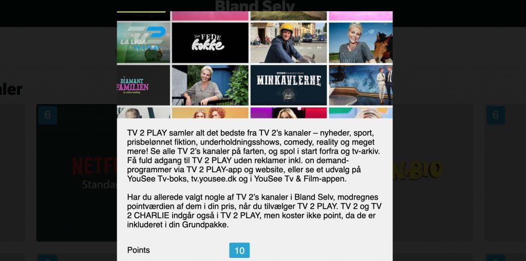 TV 2 Play hos YouSee