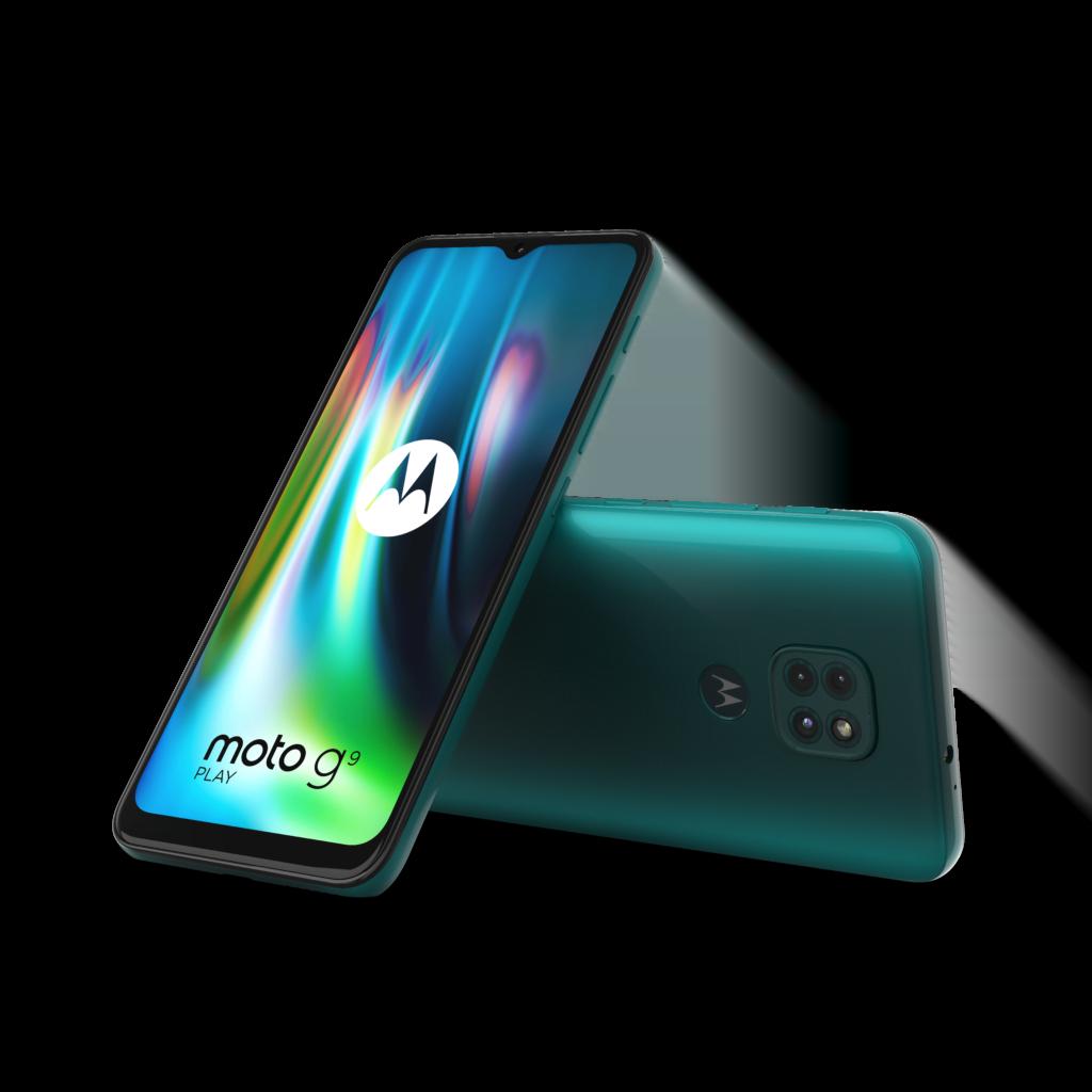Motorola Moto G9 Play i Forest Green (Foto: Motorola)