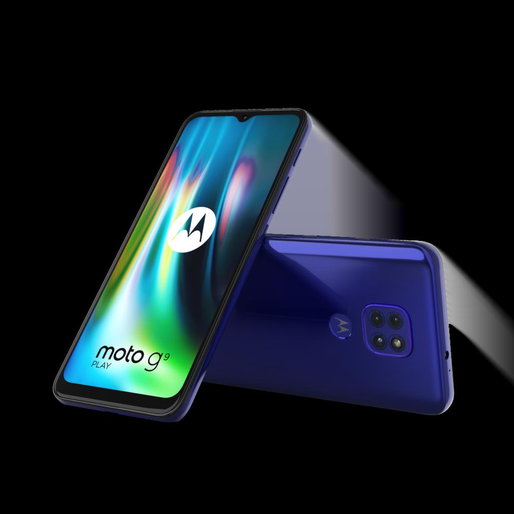 Motorola Moto G9 Play i Sapphire Blue (Foto: Motorola)
