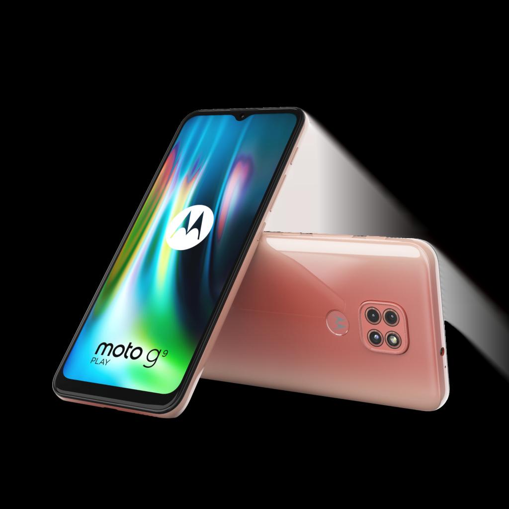 Motorola Moto G9 Play i Spring Pink (Foto: Motorola)