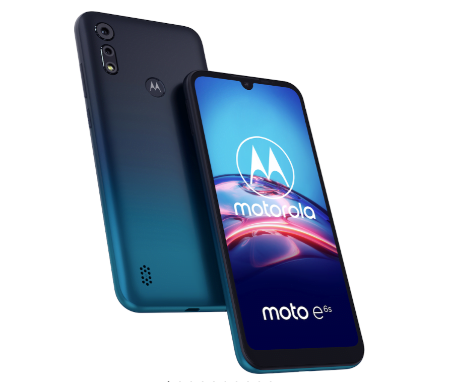 Motorola Moto E6s i Peacock Blue (Foto: Motorola)