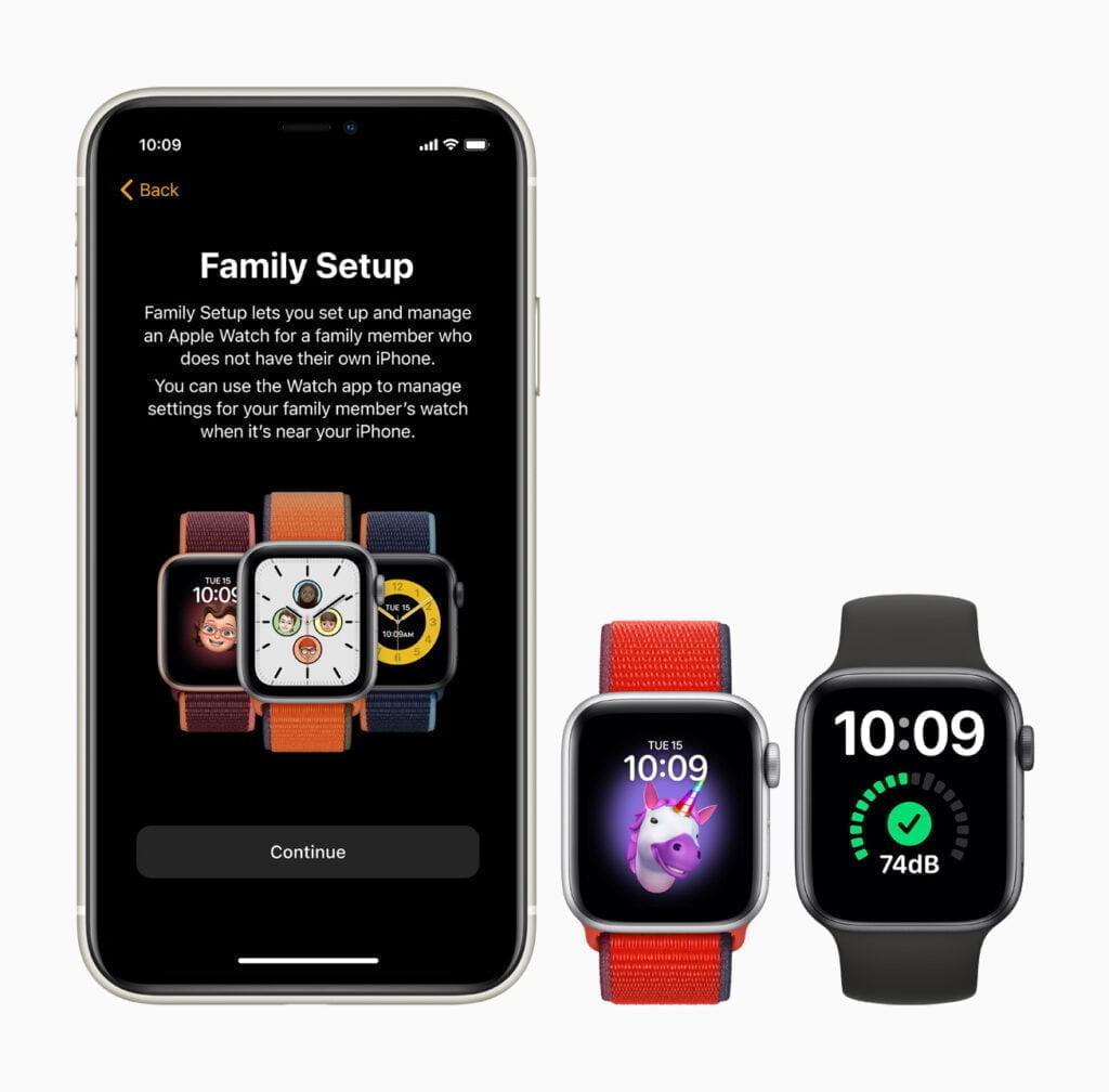 Apple Watch familie