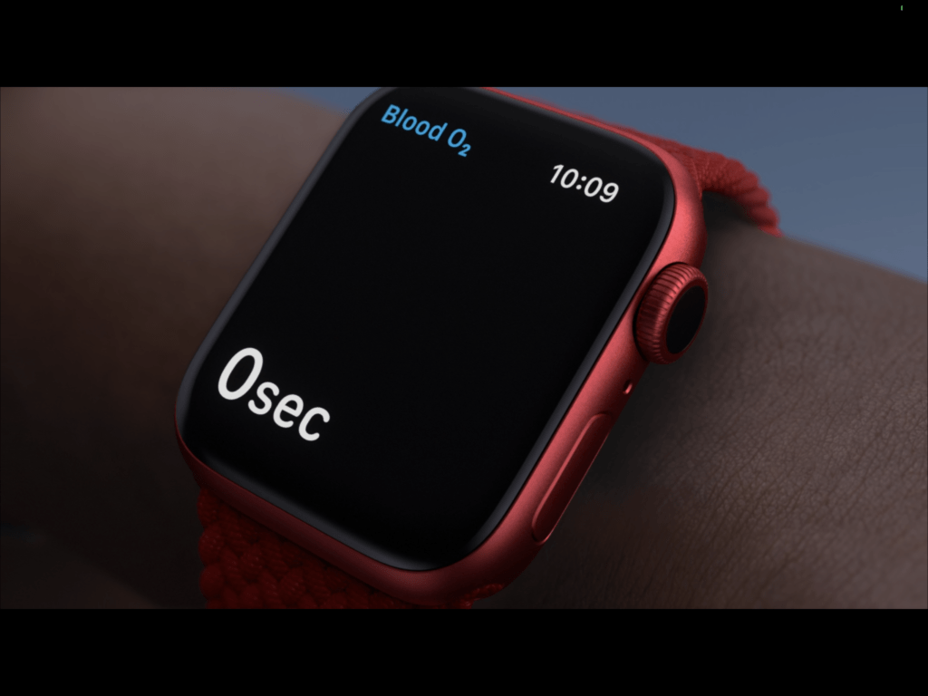 Apple Watch Series 6 vo2Max