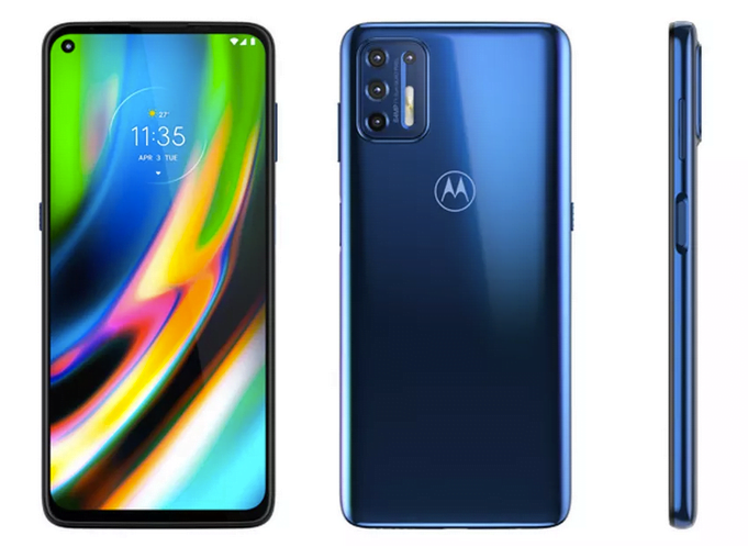 Motorola Moto G9 Plus er afsløret på teleselskabet Orange slovakiske hjemmeside (Kilde: Orange Slovakiet)