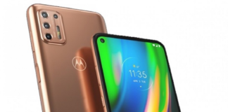 Motorola har lanceret Moto G9 Plus i Brasilien. Det er endnu uvist om den kommer til Danmark (Foto: Motorola)
