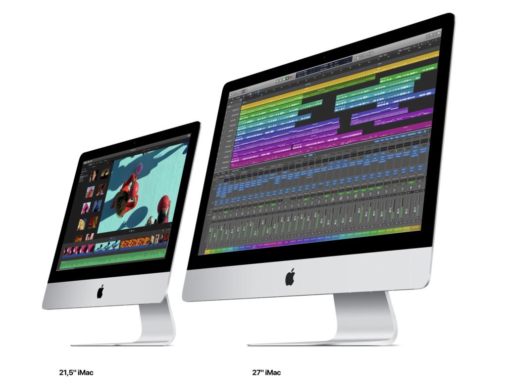 Apple iMac 27-tommer, 2020-version og iMac 21,5 tommer