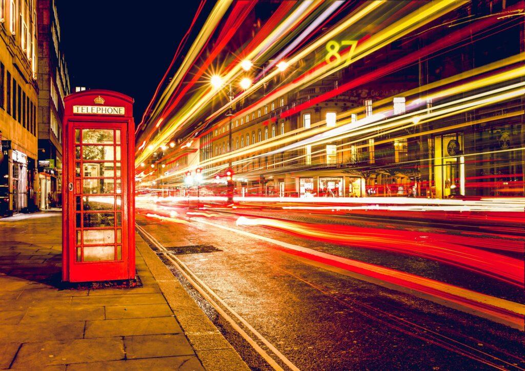 Speed hastighed telefonboks