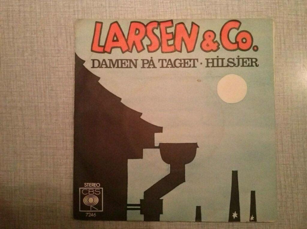 Single med Kim Larsen fra 1977