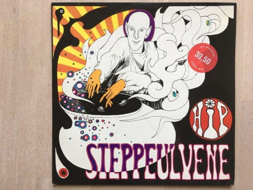 Steppeulvene, 1973, vinyl