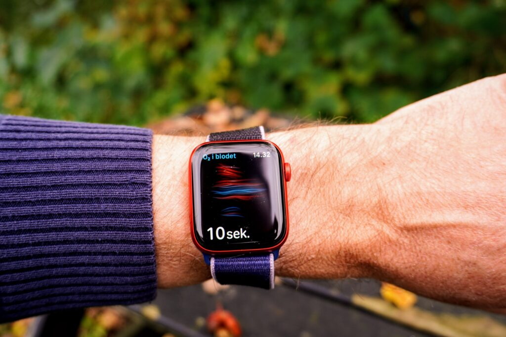 Apple Watch Series 6 test ildniveau