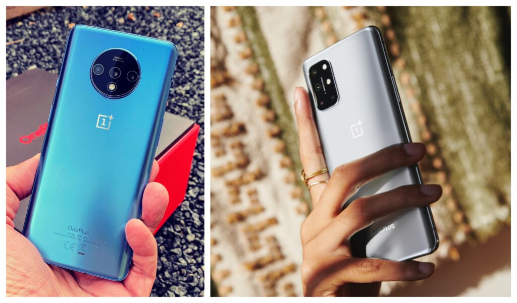 OnePlus 8T vs 7T