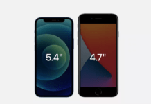 Apple iPhone 12 mini vs. Apple iPhone SE (2020) (Foto)