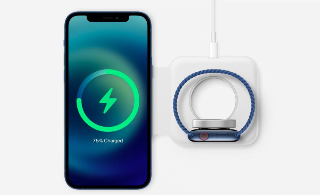 MagSafe Duo-opladeren er endnu ikke tilgængelig, men kommer i handlen senere (Foto: Apple)