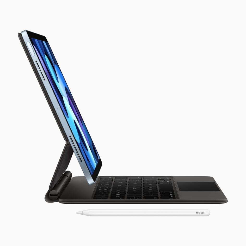 iPad Air 4th gen med Magic Keyboard og Apple Pencil 2-gen
