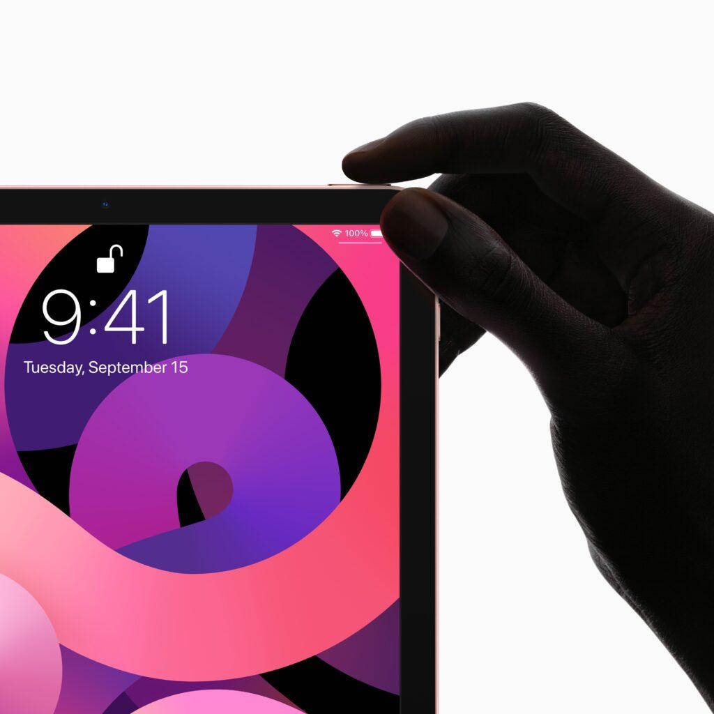iPad Air 4th gen 2020 Touch ID