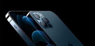 iPhone 12 Pro og Pro Max, stillehavsblå