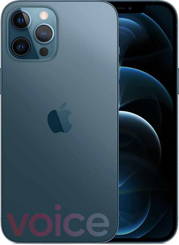 iPhone 12 Pro Max, blue