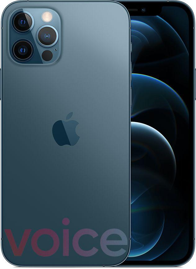iPhone 12 Pro, blå