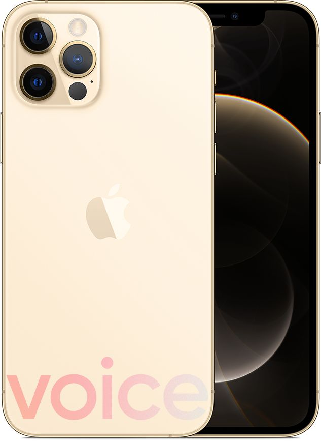 iPhone 12 Pro, guld