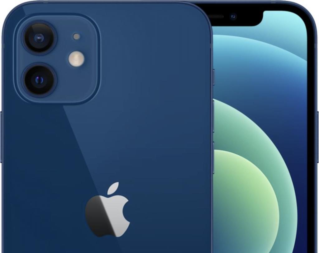 iPhone 12, blue