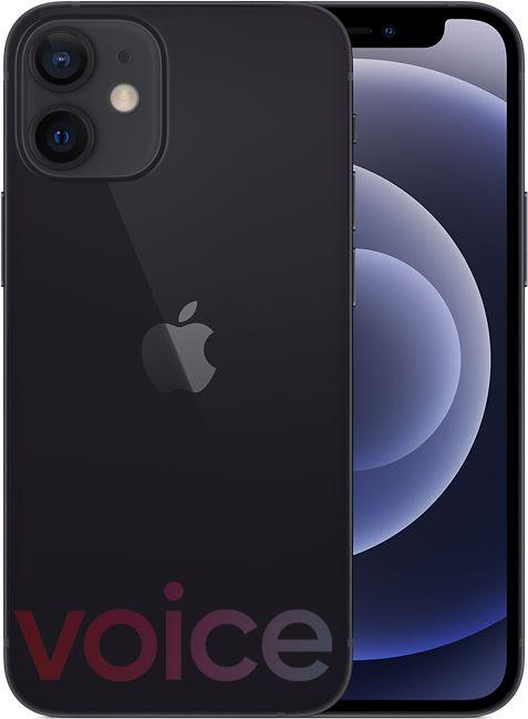 iPhone 12 Mini, black