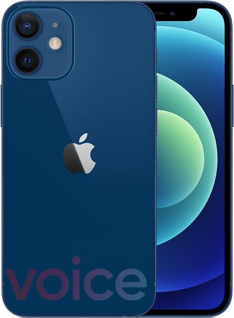iPhone 12 Mini, blue