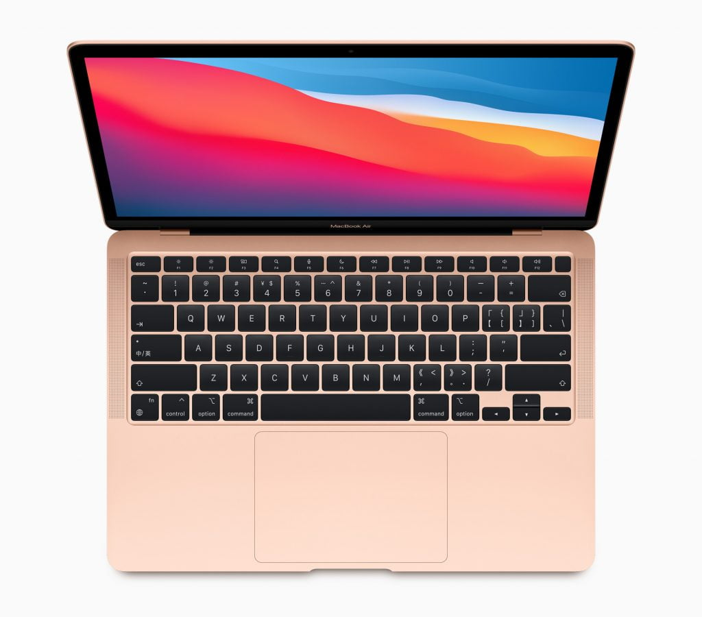 MacBook Air med M1-chip