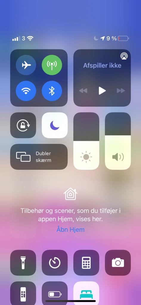 Forbrug på iPhone 12 Mini på en dag (Foto: MereMobil.dk)