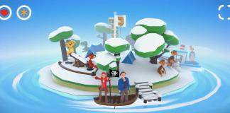 Jesperhus Film appen har fået sne på øen og klar med julekalender fra 1. december