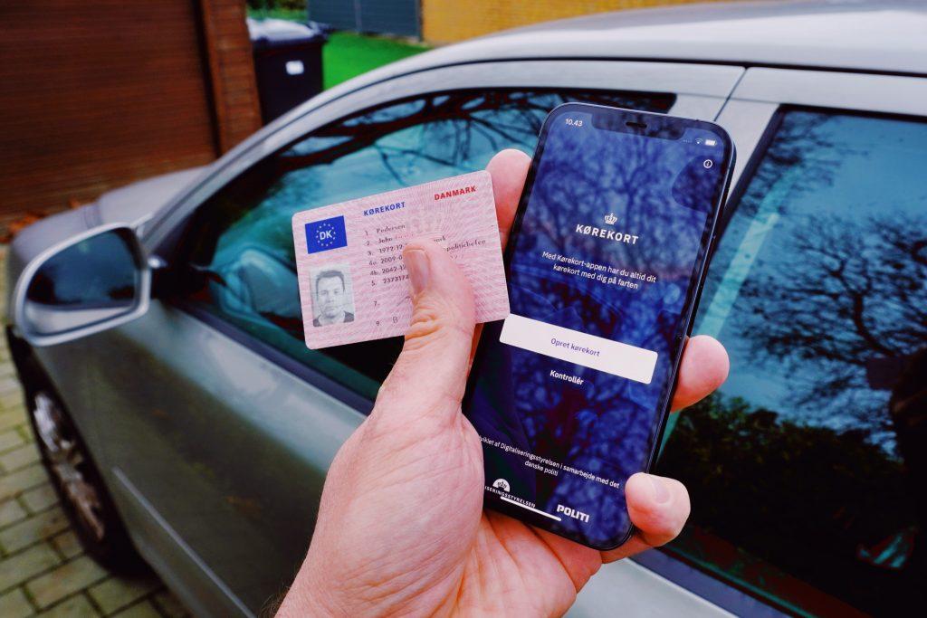 Kørekort på mobilen