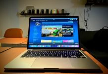 MacBook Pro 13-tommer med M1 Apple Silicon-chip