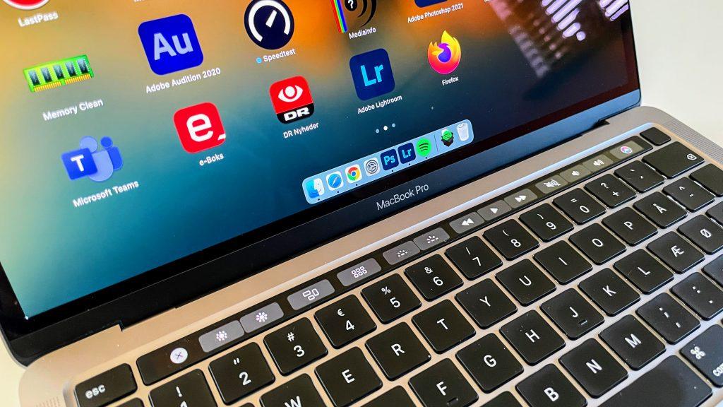 MacBook Pro 13-tommer, M1-2020