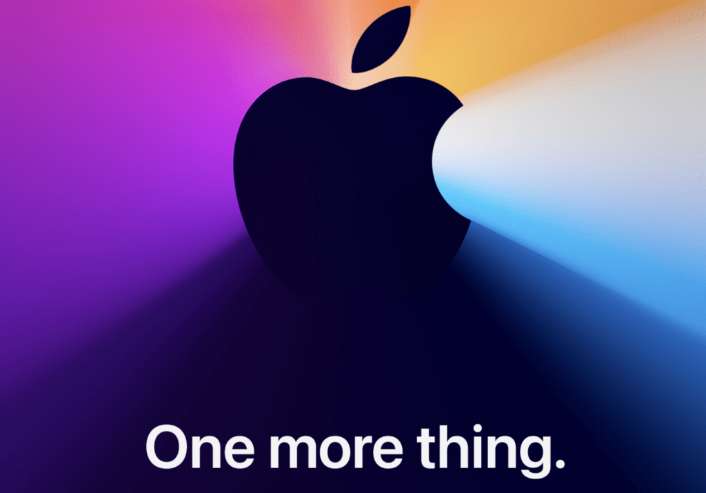 One More Thing, Apple special event 2020