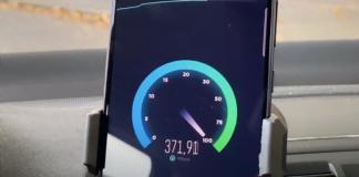 5G speedtest