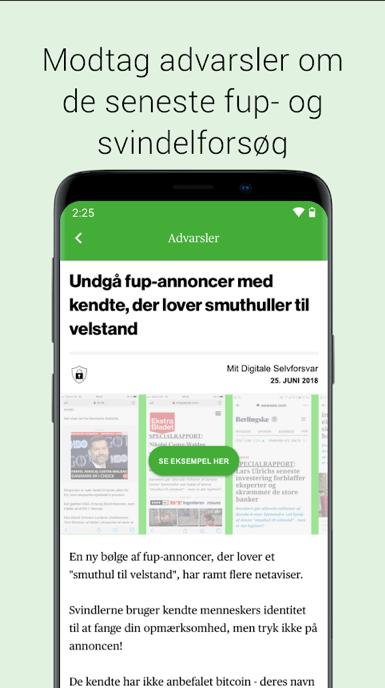 """Appen """"Mit digitale selvforsvar"""" skal hjælpe almindelige danskere i kampen mod svindlere. Svindlen på digitale platforme er stigende."""