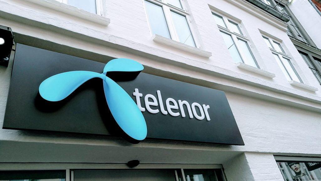 Telenor logo butik