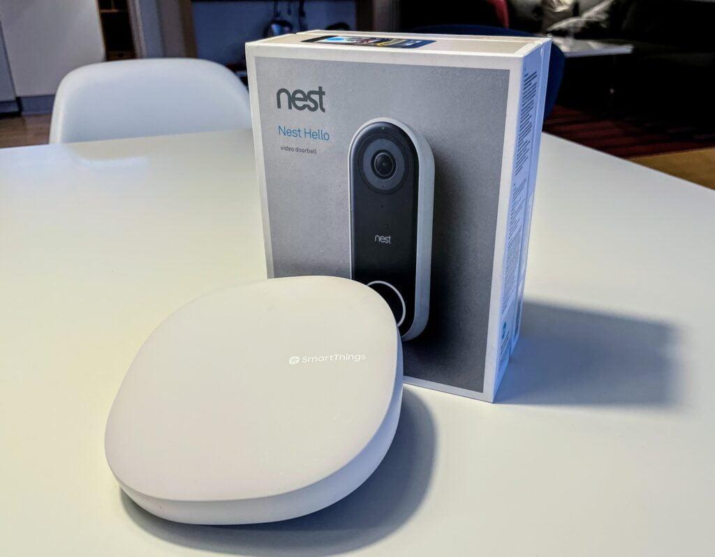 Nest SmartThings