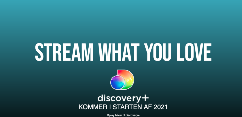 Dplay skifter navn til Discovery+ i 2021 (Foto: Discovery)