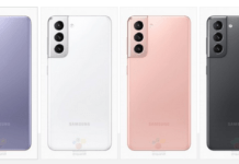 Samsung Galaxy S21 lækket i fire forskellige farvevarianter (Kilde: WinFuture.de)