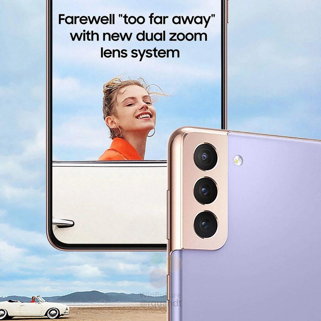Samsung Galaxy S21-marketing