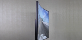 LG 48-inch bendable gaming t