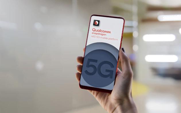 Qualcomm har lanceret processoren Snapdragon 480, hvilket betyder flere budgettelefoner nu også vil understøtte 5G-netværket (Foto: Qualcomm)