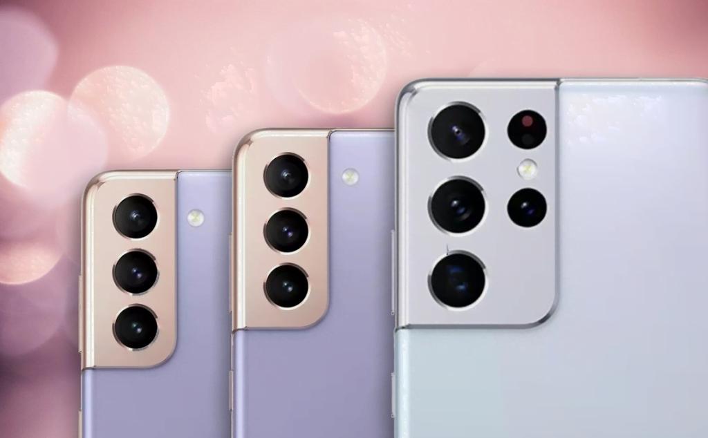 Samsung Galaxy S21-serien vil angiveligt komme i en række farver (Kilde: GSMArena.com)
