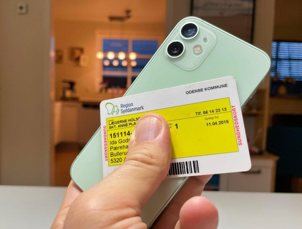 Sygesikringskort app til sundhedskort