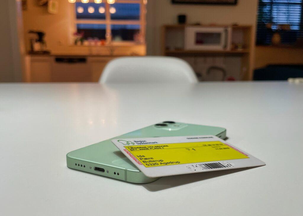 Sundhedskort sygesikringskort