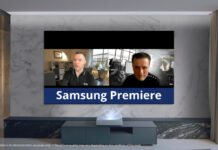 Samsung Premiere video