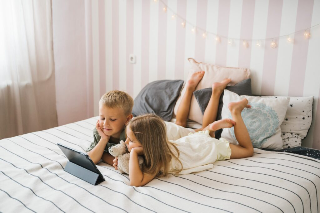 begræns skærmtid for børn med iPad og iPhone