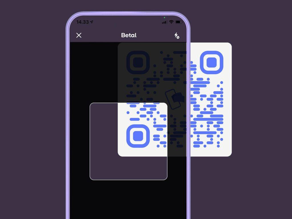 MobilePay med QR-kode