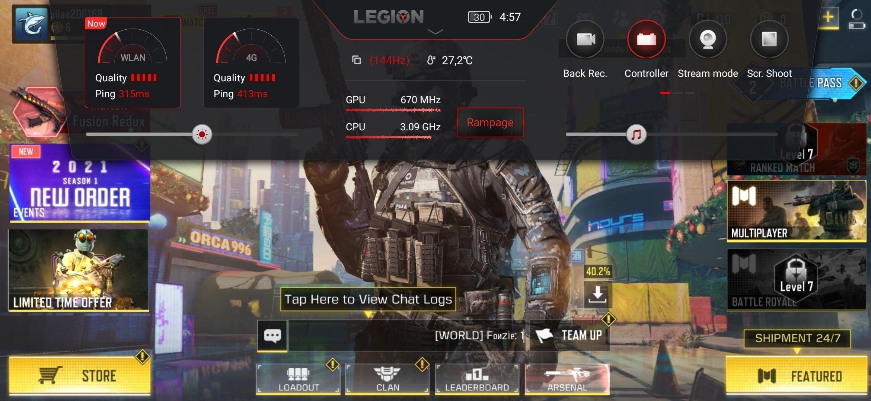 Rampage på Legion Phone Duel (Foto: MereMobil.dk)