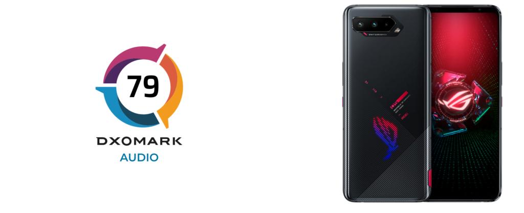 Asus ROG Phone 5 har fået en rigtig god lydanmeldelse på DxOMark (Kilde: DxOMark)